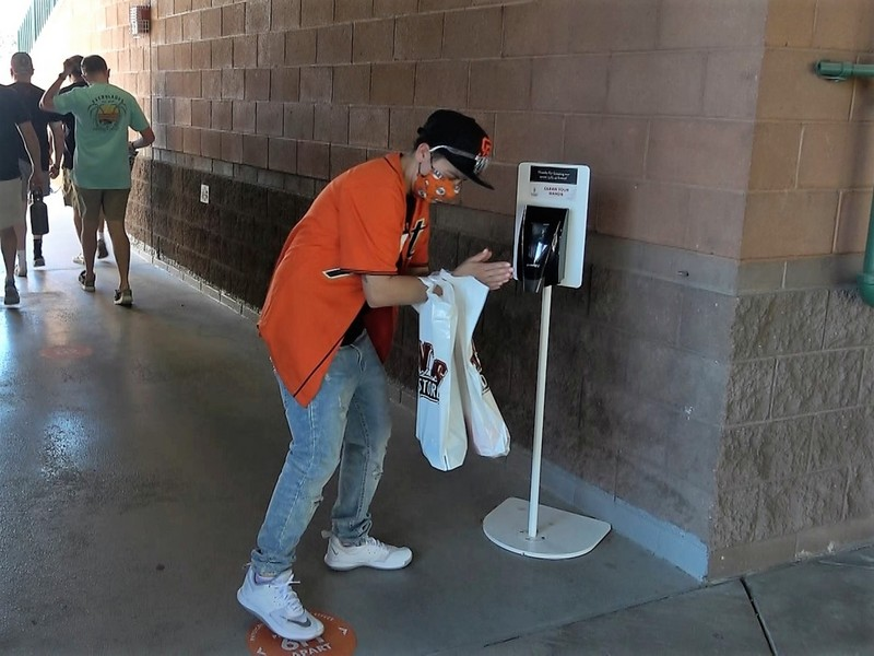 大聯盟重新迎回球迷  球場設乾洗手