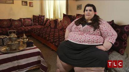 300公斤女米其林 我胖的像怪物  
