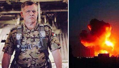 說到做到 約旦空襲IS擊斃55聖戰士 |