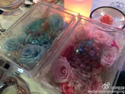 伊能靜再婚 感謝秦家人「接納如己出」 | 還附上三張照片,包括婚禮時用的花。
