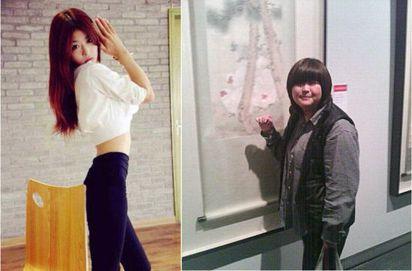 3個月瘦37公斤 胖妞變長腿妹 |