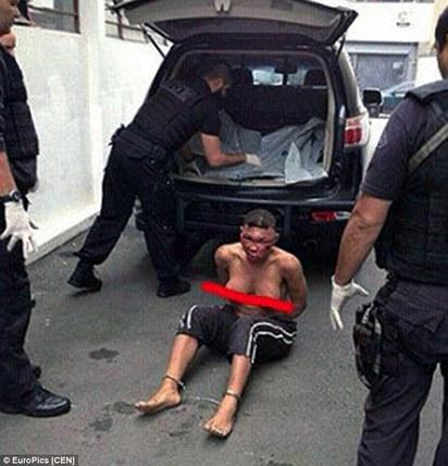 巴西變性人 遭警察爆打成豬頭引爭議 | 波莉娜上衣被扒光 疑似遭虐待