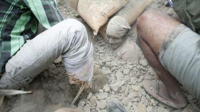 尼泊爾7.9強震 罹難人數攀升超過8百人 |