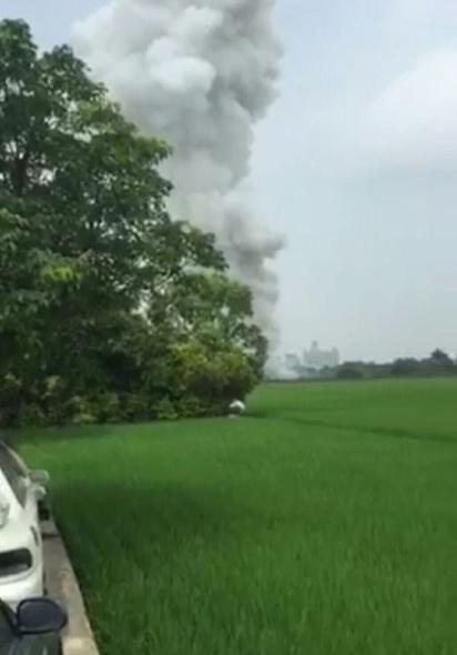 嘉義爆竹工廠爆炸冒火 1死1傷 |