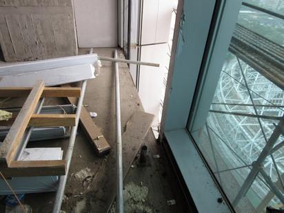 大巨蛋違規16項 將裁罰102萬   旅館棟20樓樓板高度2公尺以上開口未設護欄等防墜措施