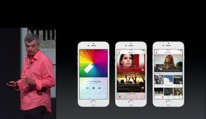 蘋果推音樂服務 搶數位音樂消費 | Apple Music 將整合現有 iOS 內的音樂 APP,推「My Music、For You、 New」三大音樂功能