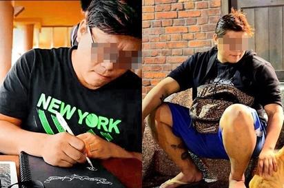 刺青師餵毒性侵正妹「我之前就喜歡她了」   黎宥圻在刺青界小有名氣。/翻攝畫面。