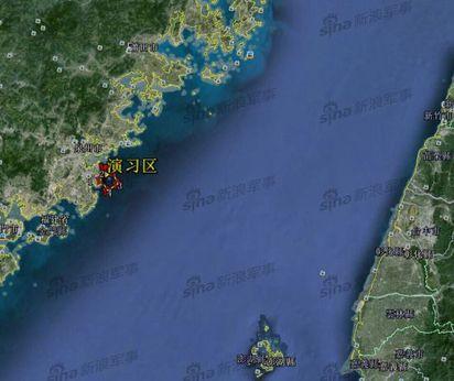 示威? 台灣演習共軍明起台灣海峽實砲演習 |