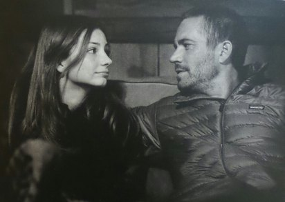 粉絲感動! 保羅沃克女兒這樣紀念爸爸冥誕   保羅生前與女兒梅朵的合照