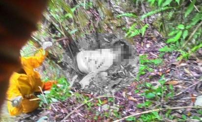 重機失控自摔 男墜中橫深谷無生命跡象 | 郭男被救難人員找到時 已無生命跡象(翻攝畫面)