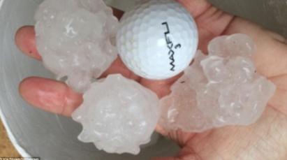 太壯觀! 雪梨驚見「海嘯雲」專家:大暴雨前兆 | 澳洲新南威爾士受氣候影響.降下如高爾夫球般的冰雹
