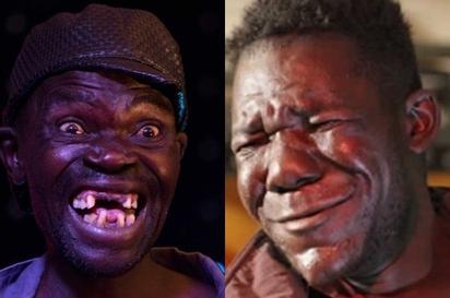 全非最醜的男子! 今年被更醜的他KO了… | 賽瑞(左)打敗歷年冠軍馬斯維努(右),成為全非最醜男子(翻攝Youtube)