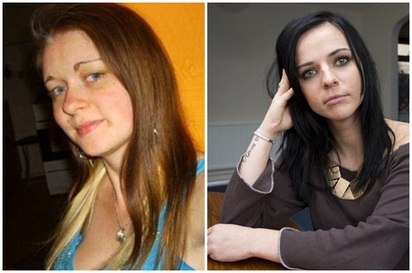 可惡!殺女友後 臉書他還冒名邀人玩..   (左)受害人萊曼(右)萊曼好友安娜