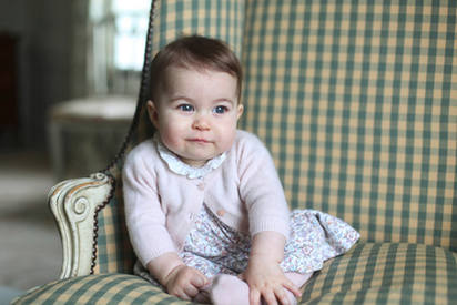 生活照曝光! 英國小公主新照萌翻天 |