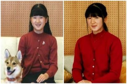 日本愛子公主14歲! 亭亭玉立少女照曝光 | (左)10歲的愛子公主