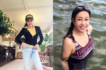 60歲女星PO泳裝素顏照 網友:這是30歲!  