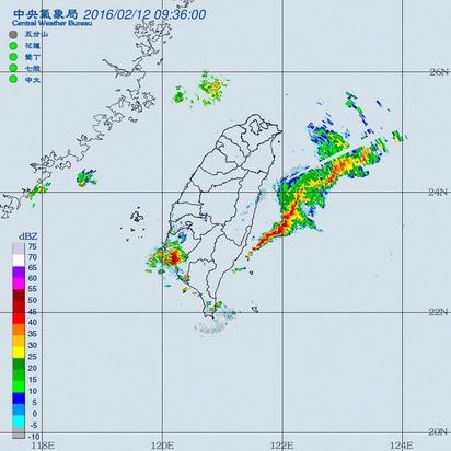 注意! 對流雲系發展旺盛 台南.高雄有大雨 |