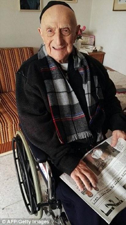 112歲世界最老男性! 獲金氏世界紀錄認證 | 克里斯托目前住在以色列
