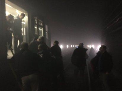 布魯塞爾地鐵爆炸 比利時全國反恐升至最高級 | 地鐵爆炸後的景象