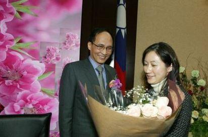蔡英文總統宴請五院院長 林全嫩妻成「嬌點」 |