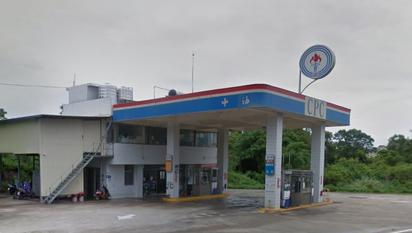 超幸運! 金門鄉親加400元油中千萬特別獎 | 發票由這家加油站開出。