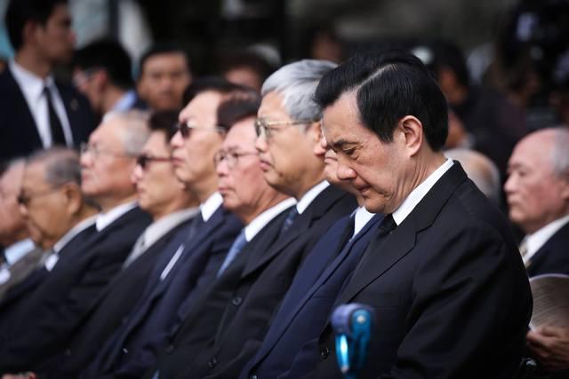 前總統馬英九提到六四事件27週年,他也談六四27次。