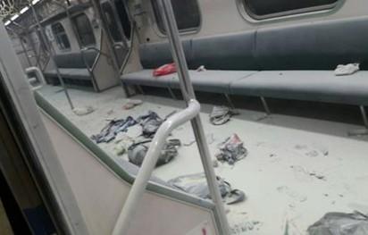 松山車站爆炸 證實疑遭放長形爆裂物 |