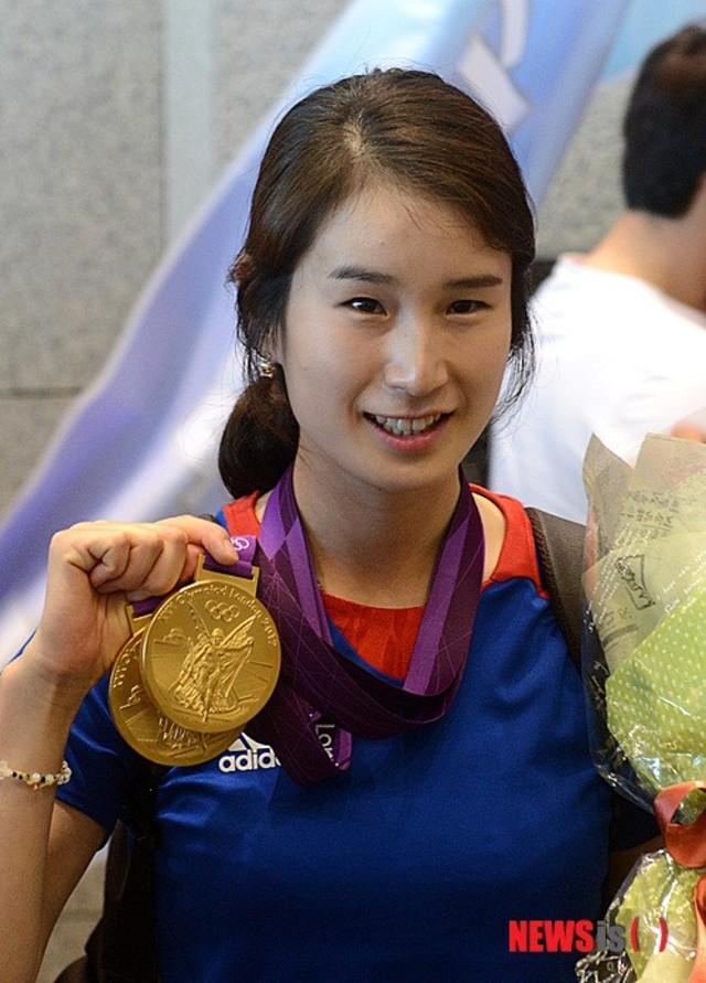 奇寶貝曾在2012年的倫敦奧運射箭比賽上,奪下金牌,因此備受南韓人民愛戴。(翻攝自Newsis)