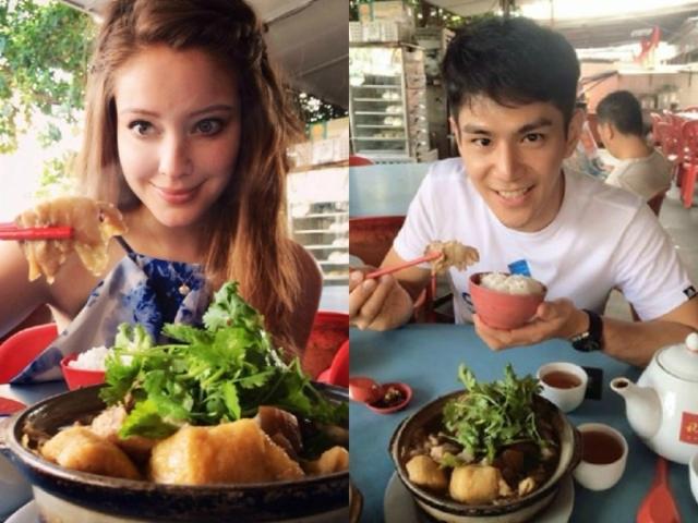 去年祖雄和安妮熱戀,兩人常一起出遊放閃。翻攝自祖雄/安妮臉書。