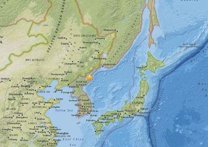 北韓官方承認 第5次核試爆引發地震 |
