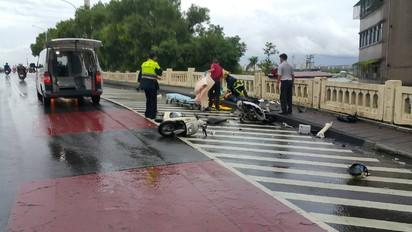 計程車失控撞3機車 騎士1死2輕傷 |