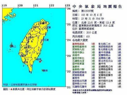 【華視起床號】台東外海地震全台有感 綠島小7屋頂崩塌  