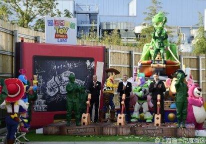 跟上海站拚了! 香港迪士尼將設鋼鐵人園區 | 上海迪士尼則是擴增玩具總動員園區