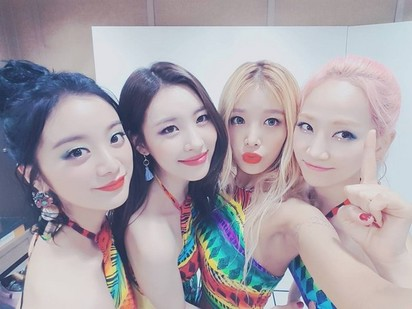 Wonder Girls 解散?! 對手頻挖角粉絲好急 | (翻攝Wonder Girls臉書)