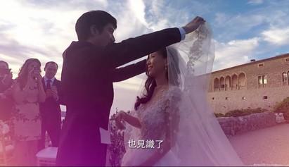 王力宏婚禮影片曝光 掀頭紗瞬間「感動流淚!」【影】 | 王力宏2013年和王靚蕾結婚,掀頭紗的瞬間超感動。
