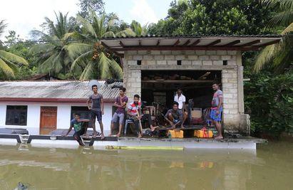 14年來最慘! 斯里蘭卡洪災169死50萬人無家可歸 | (翻攝美聯社)