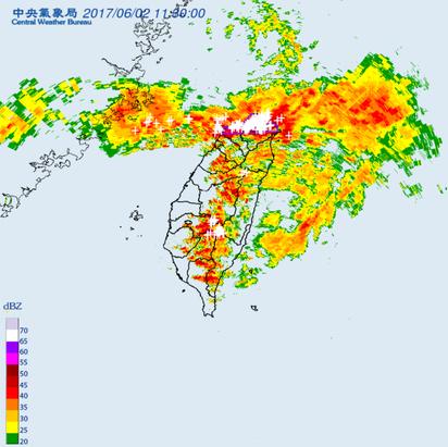 【午間搶先報】北北基桃大雷雨警訊 防劇烈降雨強風   大豪雨。
