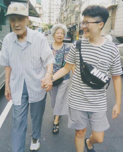 【有淚】96歲老夏走了 老伴:放心我會照顧自己 | (翻攝夏德萱IG)