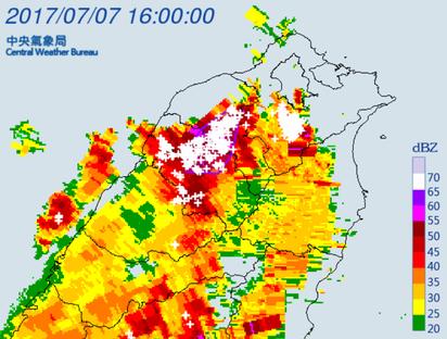 注意瞬間強降雨! 北北基、新竹、桃園升級豪雨特報   大雷雨特報