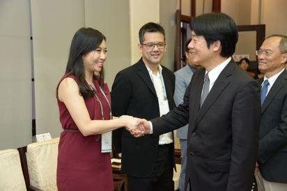 接見北美洲商會總會 賴揆籲:加入投資台灣的行列 | (行政院提供)
