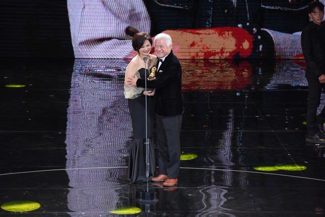 年度台灣傑出電影工作者-胡定一。(金馬執委會提供)