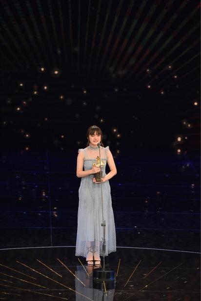14歲文淇 天才少女意外撞臉「16歲惠英紅」   第54屆金馬獎「最佳女配角」由《血觀音》文淇獲得。(金馬執委會提供)