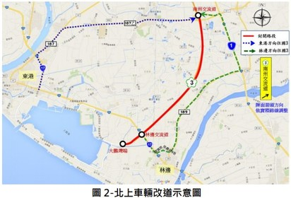 鐵人三項國道封閉! 國3南州交流道至大鵬灣 25日封閉5小時 |