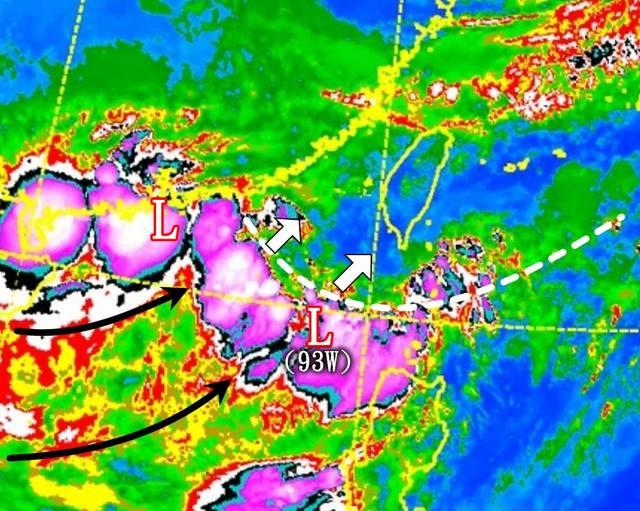 西南氣流影響 午後雨神由南往北侵襲 | 翻攝自觀氣象看天氣