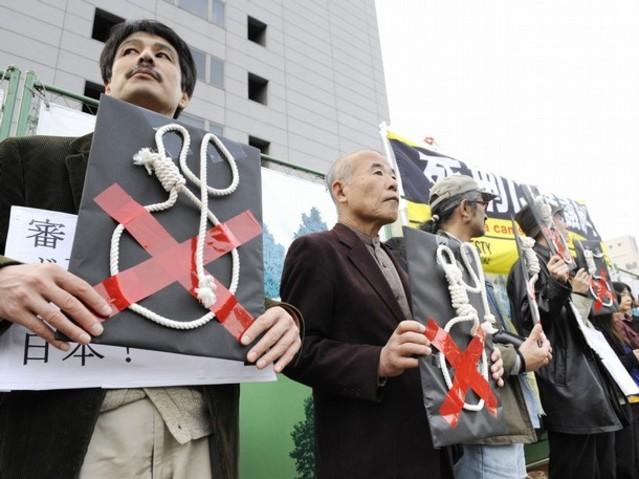 日本大膽採用古法「絞刑」 死囚當天才知行刑 | 翻攝自apjjf.org