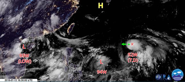 雙颱危機? 9號颱風「山神」最快明形成 | 台灣颱風論壇分析,山神颱風預計會受到高壓影響,直接侵台機率低(翻攝自台灣颱風論壇臉書)