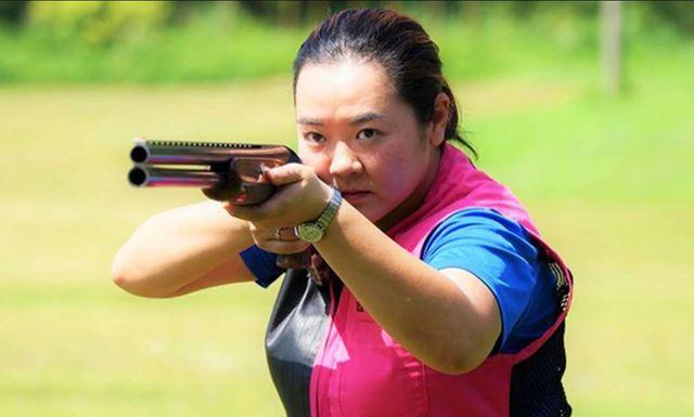 射擊選手林怡君。(翻攝中華奧會網站)