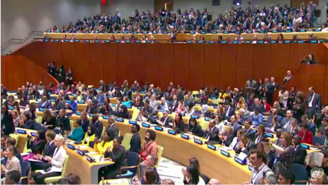 聯合國4友邦挺台 強調「不能遺漏台灣」 | 聯合國大會。(翻攝聯合國Youtube)