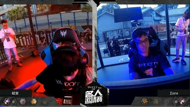 《爐石》作弊事件 大哥Tom60229哽咽道歉 | (翻攝自Tom60229的Twitch,他表示紹安(左)參加Yahoo名人賽時利用手機觀看對方牌組。)