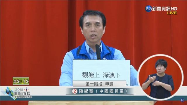 國民黨籍候選人陳學聖。